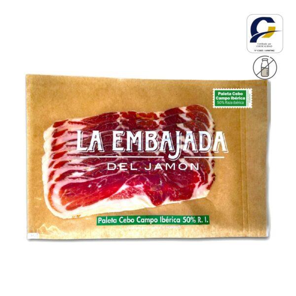 Paleta Cebo de Campo 50% Raza Iberica corte extra