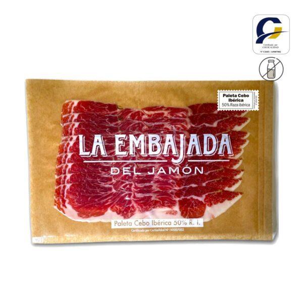 Paleta Cebo Iberica 50% Raza Iberica Corte Extra